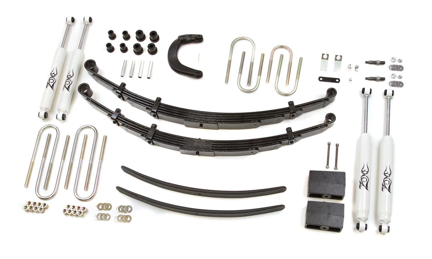 hight resolution of zone offroad 6 leaf springs lift kit 1973 1987 chevy gmc pickup