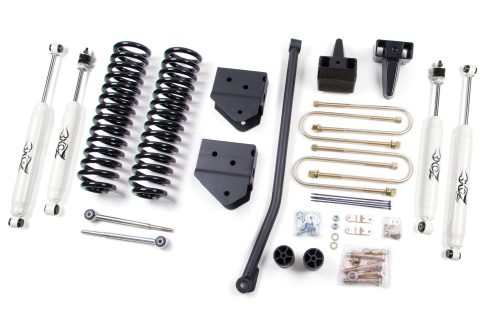 small resolution of zone offroad 4 coil springs bracket kit 2005 2007 ford