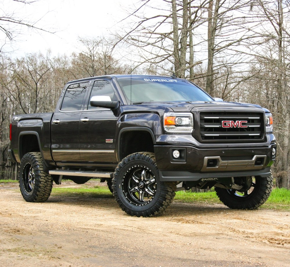 medium resolution of chevy silverado lifted superlift 8 lift kit for 2007 2016 chevy silverado and gmc