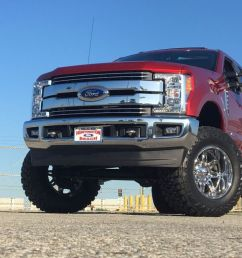 superlift 6 radius arm lift kit for 2017 2018 ford f 250 and f 350 super  [ 1024 x 768 Pixel ]