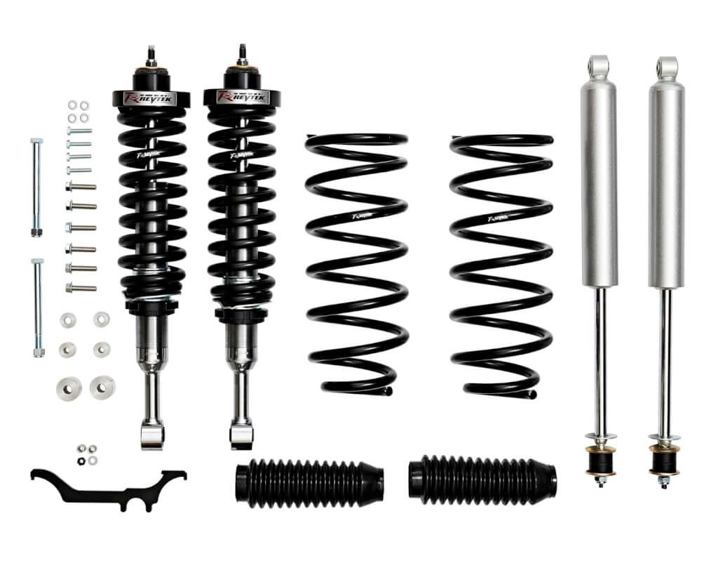 Revtek 0 3 Adjustable Lift Kit With Rear Coils For