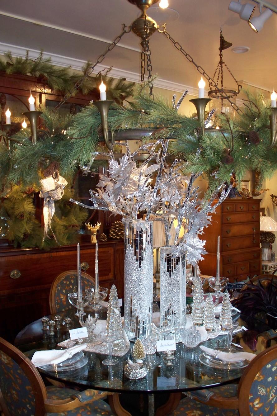 Christmas Decorations  Asheville  Biltmore Lamp  Shade