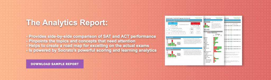 sat act diagnostic test