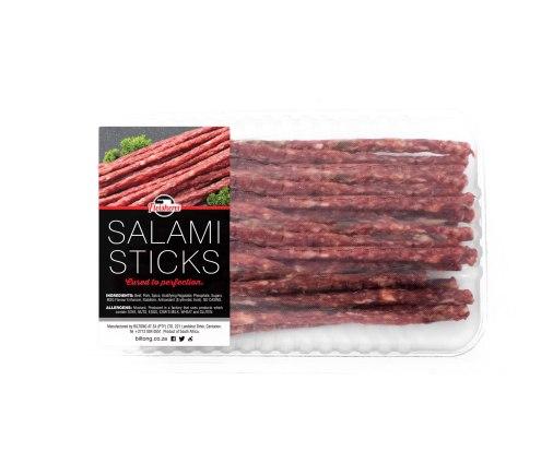 Salami Sticks 200g. Buy biltong online at Fleisherei & Biltong@ZA.