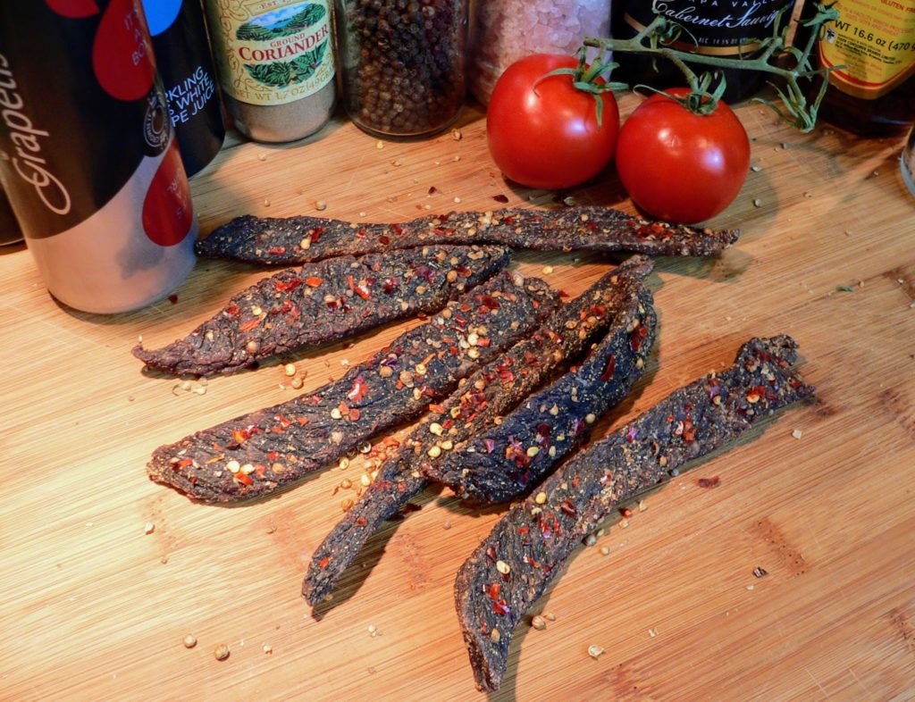 how to cut meat for biltong