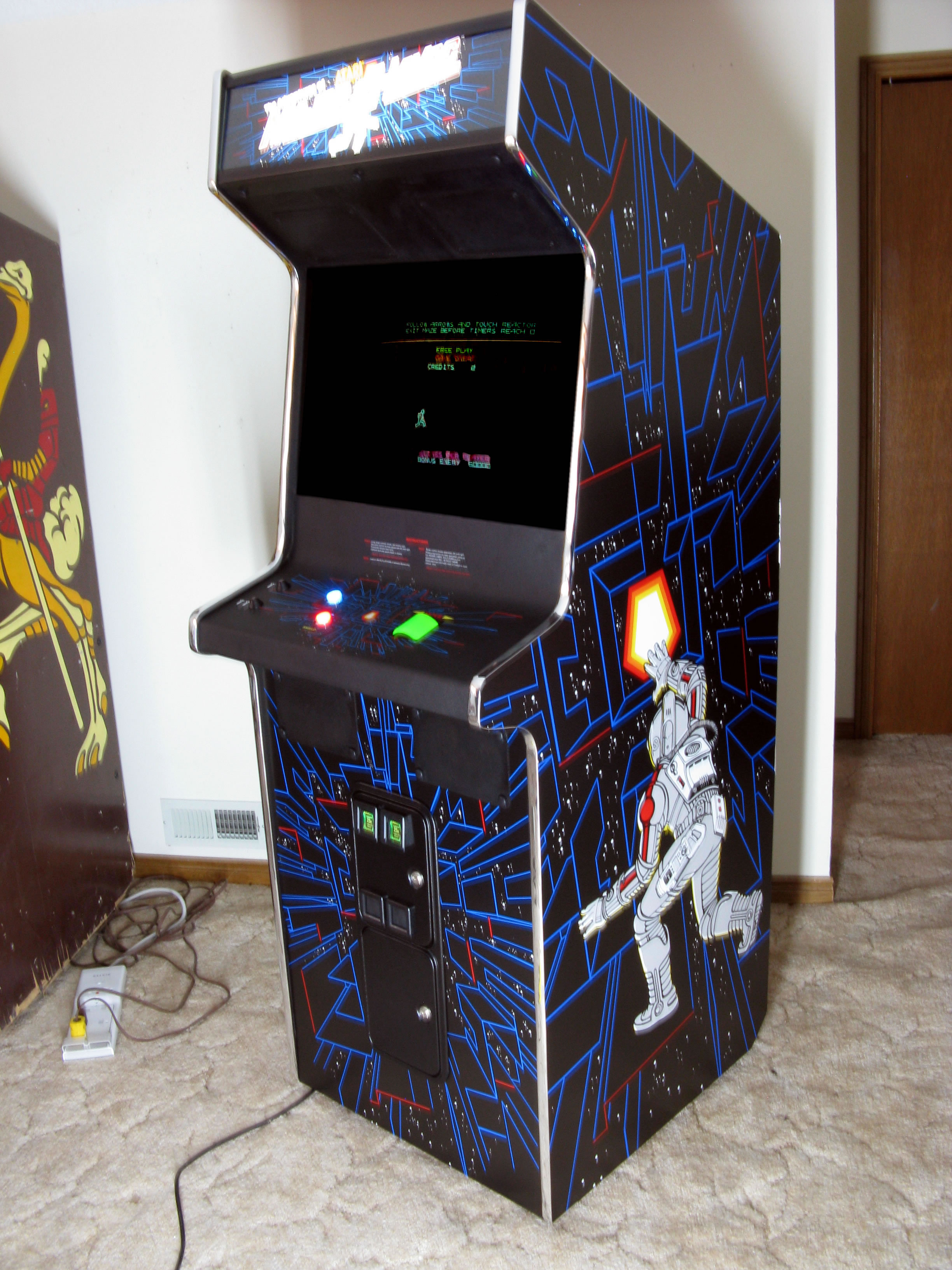 Bills Classic Arcade Space Duel to Major Havoc Conversion