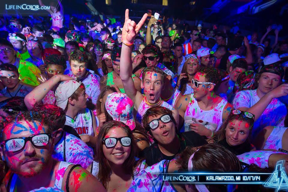 """פסטיבל הצבע והרייב, צילום: יח""""צ"""