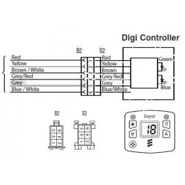 Eberspâcher 801 digital controller
