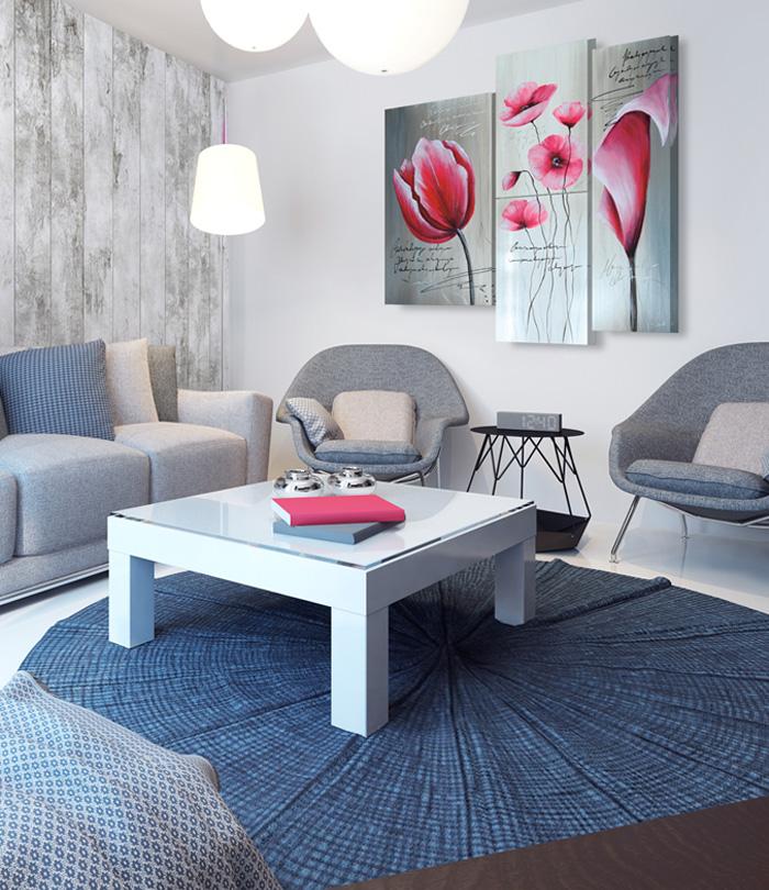 Grigio elegante  scegli quadri per pareti grigie  Blog