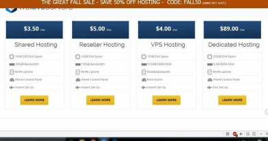 Promo Weloveservers great fall sale