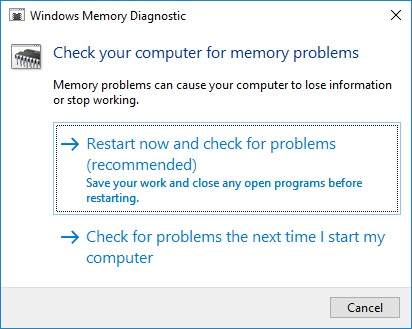 Low Memory Windows 10