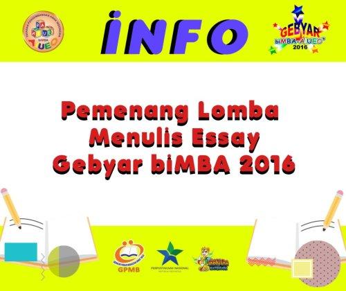 info-essay