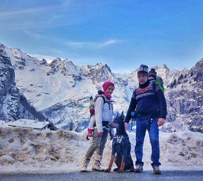Courmayeur con bambini cosa fare in tutte le stagioni sotto Monte Bianco