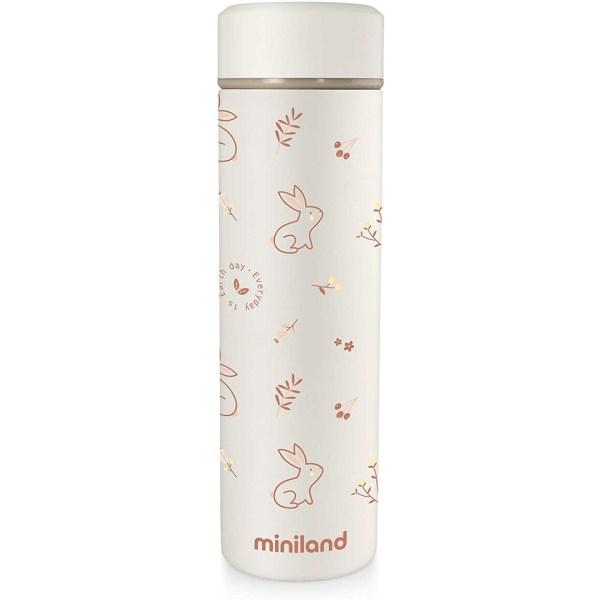 Miniland Thermos Conigli Arancioni 450ml