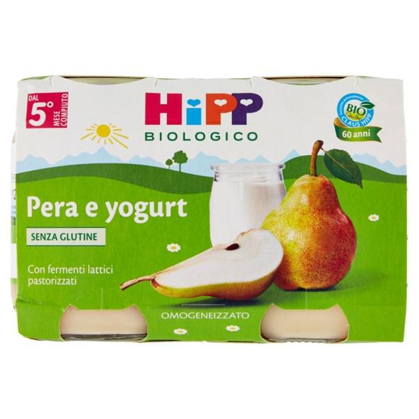 Hipp Merende di Frutta Pera Yogurt 2x125g