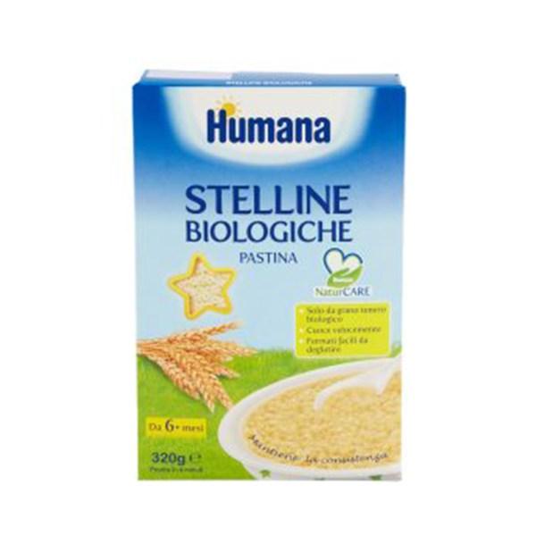 Humana Pastina Stelline Biologiche