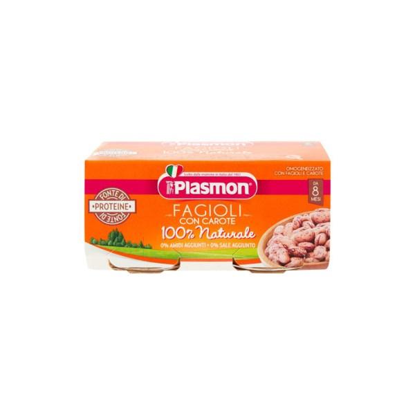 Plasmon Omo Fagioli con Carote