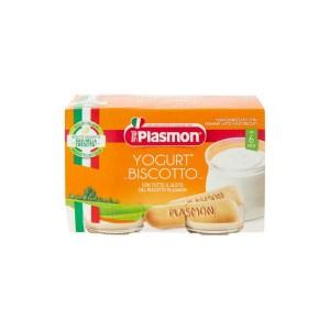 Plasmon Omogeneizzato Yogurt Biscotto 2x120g