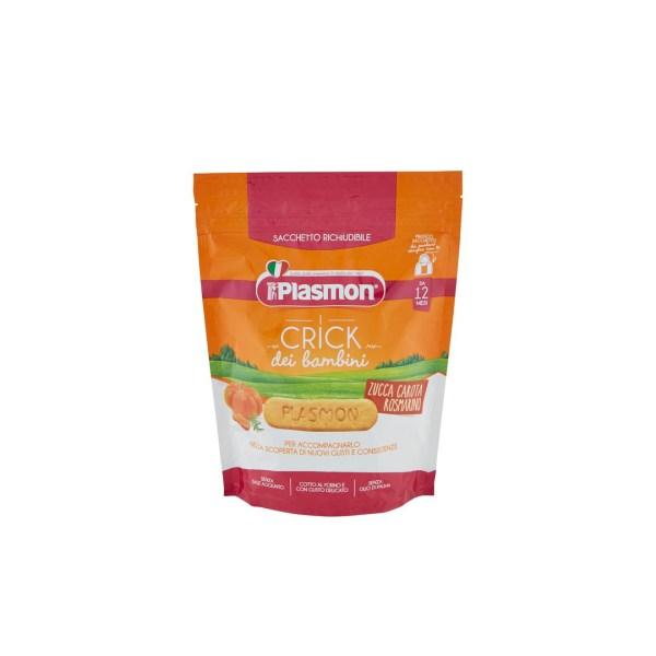 Plasmon i Crick dei bambini Zucca Carota Rosmarino 100g