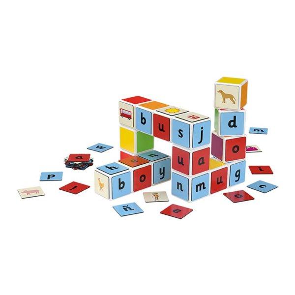 Geomag Magicube Word Building 16 Cubi 63