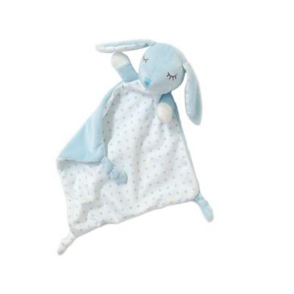 Kiokids doudou coniglietto azzurro 2 30cm