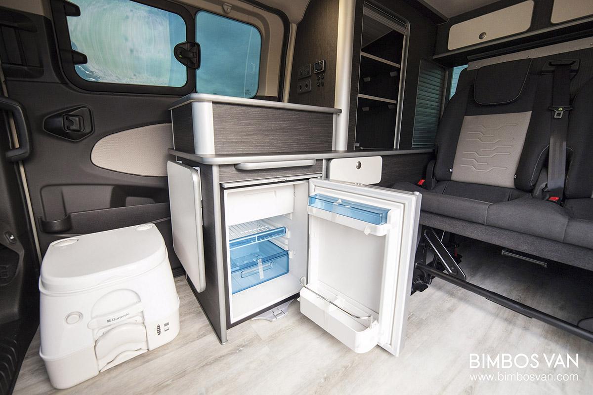 Ford Tourneo Custom Camper  Bimbos Van