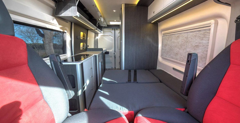 Fiat Ducato Camper H2 L3 4 plazas viajar y dormir  Bimbos Van