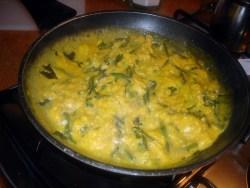 Asparagi al vapore con uova mimosa bimby