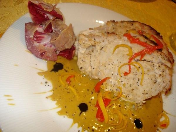 Pesce spada con pomodoro e capperi bimby