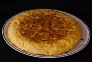 Frittata di patata spagnola Bimby