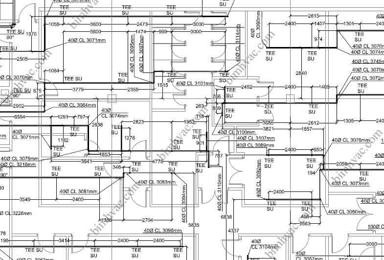 HVAC BIM Services, India, USA, UK