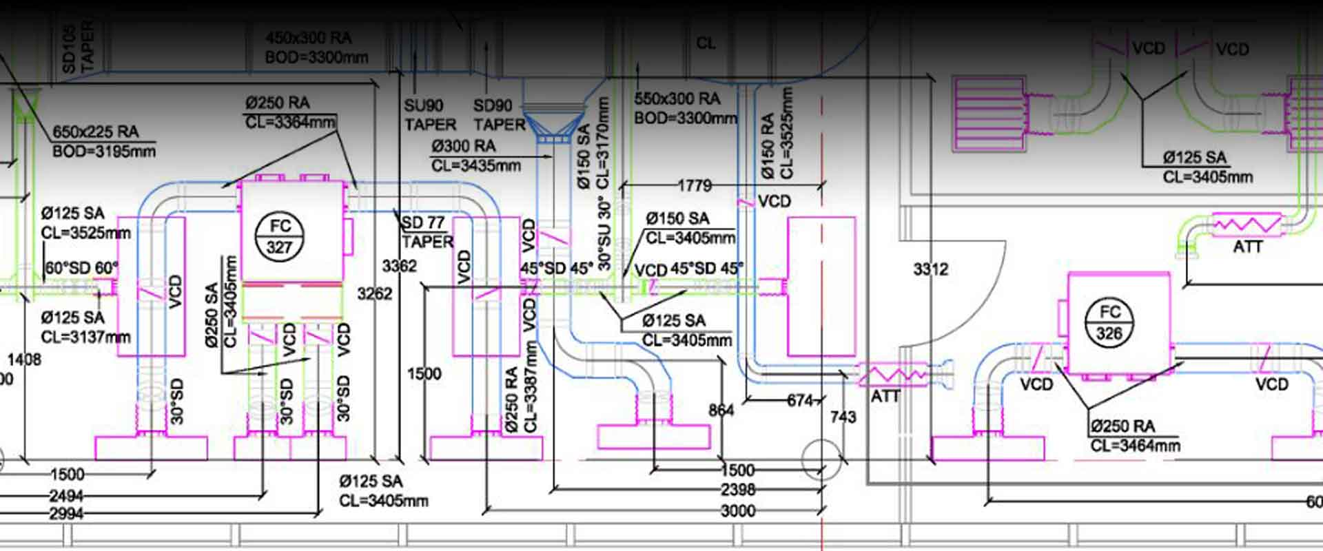 hight resolution of shop drawings