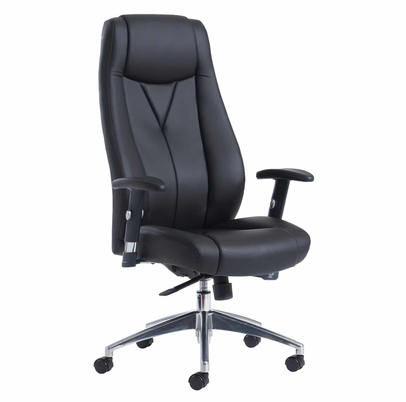 office chair replacement base sitting on a balance ball instead of odessa high back executive adjustable armrests