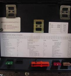 1988 bmw 7 series fuse box diagram