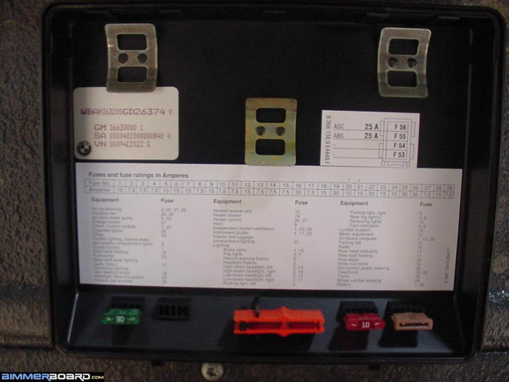 medium resolution of 1995 bmw 740i fuse box diagram images gallery