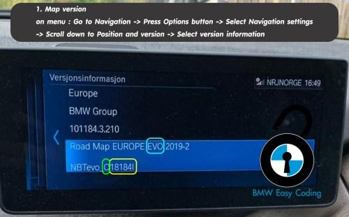 Firmware version fullscreen for carplay