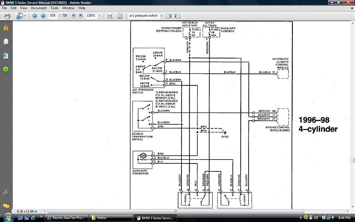 [33+] Bmw E36 Auxiliary Fan Wiring Diagram