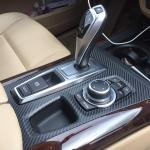 Carbon Fiber Vinyl Wrap Of Center Console Trim Bimmerfest Bmw Forum
