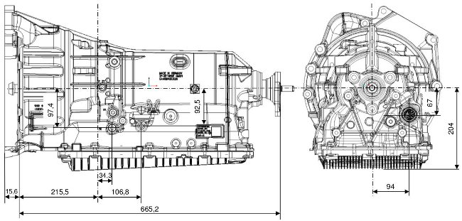 Коробка передач 8HP50 ZF