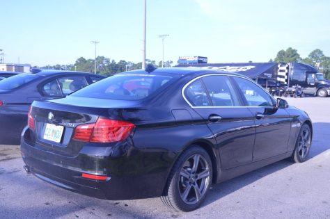 BMW 528i Test Car