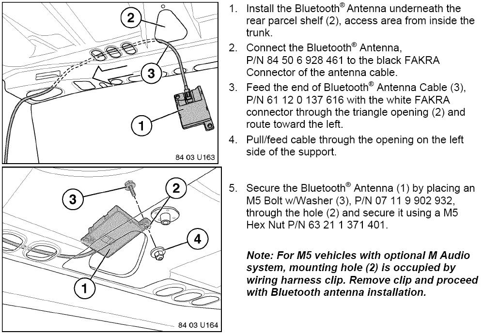 2002 honda accord audio wiring diagram arb air locker how to install bluetooth in the bmw e46 3 series - kit insta – bimmernav online store