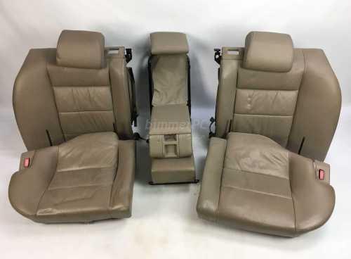 small resolution of bmw e32 7 series parchment tan leather power rear seats cushions rh ebay com 1989 bmw 325i 1990 bmw 750il