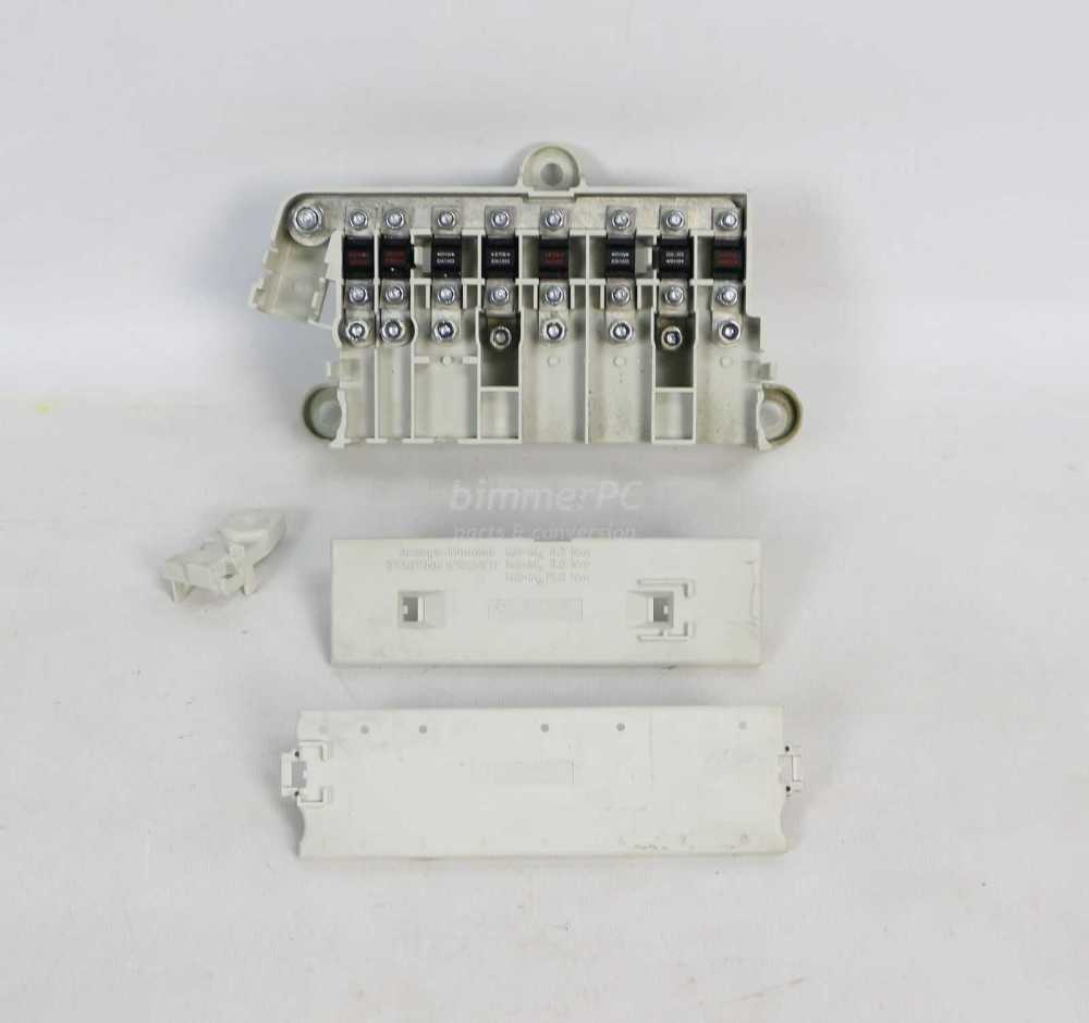 medium resolution of picture of bmw 61138387544 under seat power distribution fuse box holder e38 e39 for sale