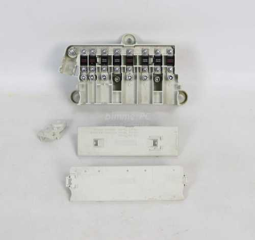 small resolution of picture of bmw 61138387544 under seat power distribution fuse box holder e38 e39 for sale