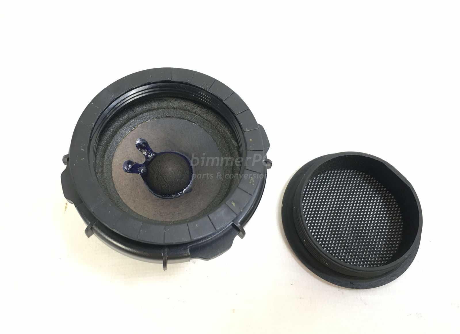 hight resolution of picture of bmw 65138368245 black harman kardon 2 mid range rear door loud speaker e46