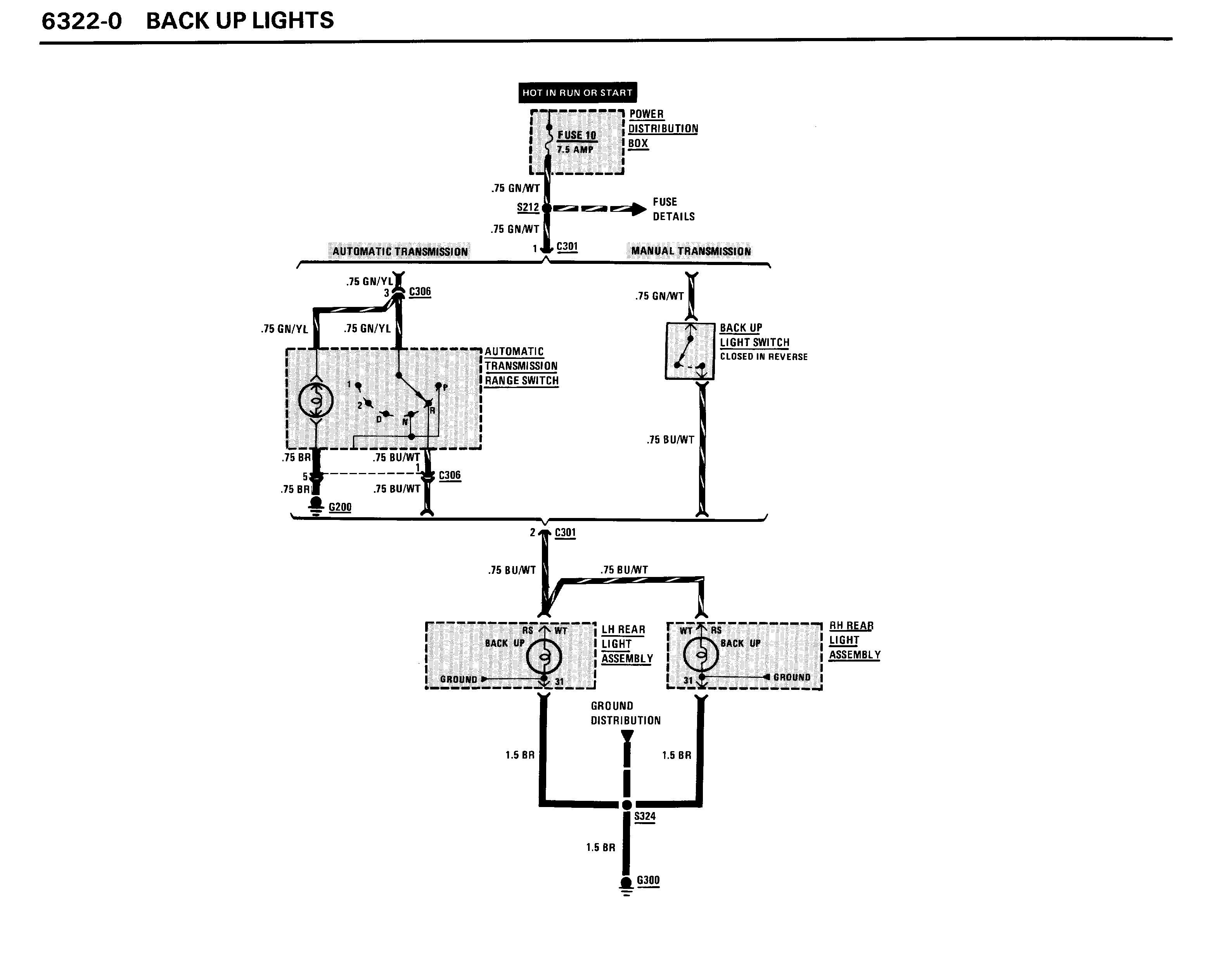 reverse light wiring diagram of motorcycle alarm system lights bmw forum bimmerwerkz