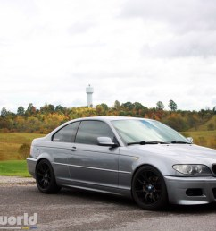 we sourced a euro spec e46 m3 front bumper for austin to replace the stock lci coupe bumper austin feels the m3 bumper matches the rest of the car s  [ 1200 x 800 Pixel ]
