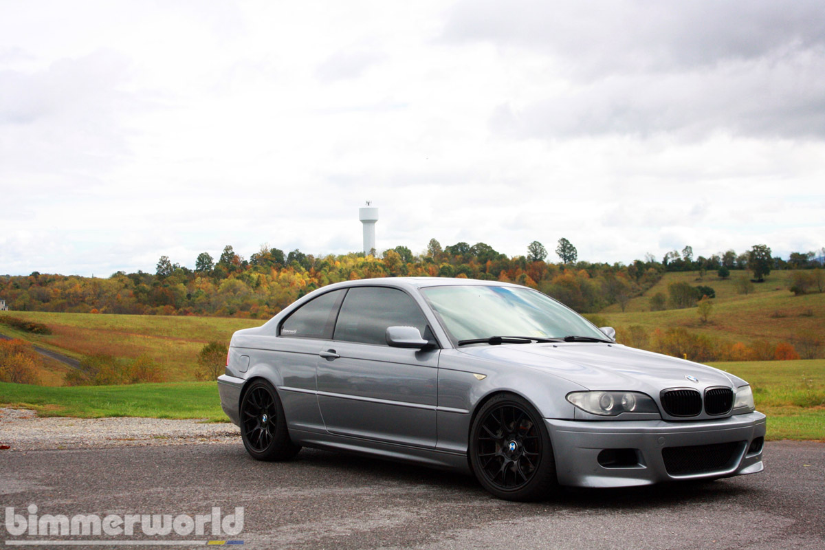 hight resolution of we sourced a euro spec e46 m3 front bumper for austin to replace the stock lci coupe bumper austin feels the m3 bumper matches the rest of the car s