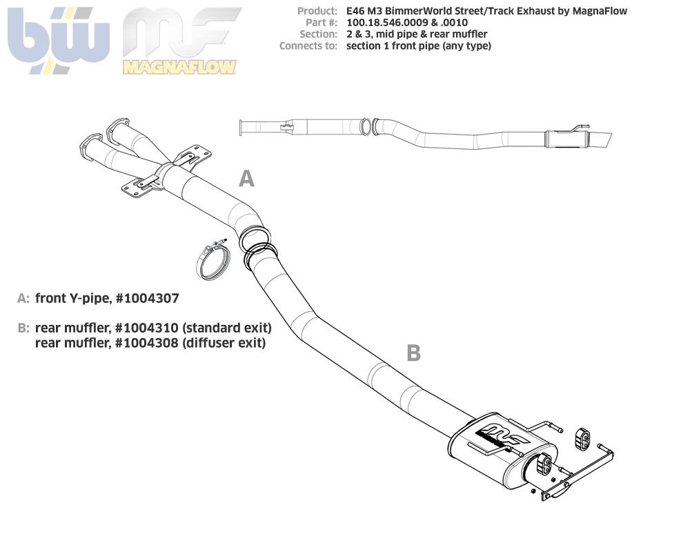 hight resolution of y pipe exhaust diagram