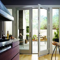 200 series hinged patio doors inswing